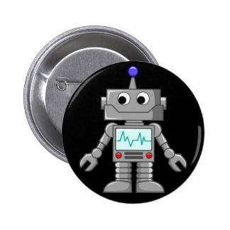 Robot Freak Chapa Redonda De 5 Cm