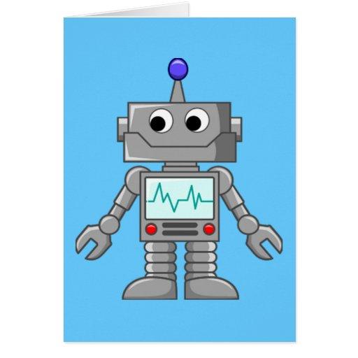 Robot Freak Tarjetón