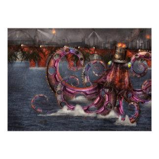 Roboticus del magnificus de Steampunk - de Enteroc Anuncio Personalizado