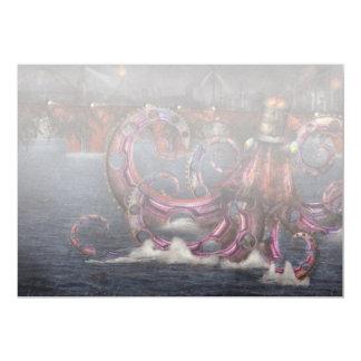 Roboticus del magnificus de Steampunk - de Invitación Personalizada