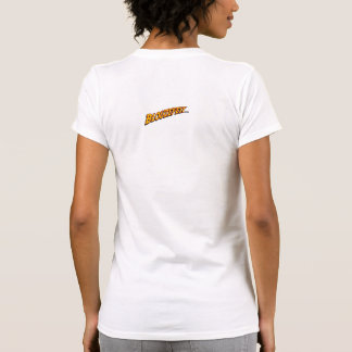 Robots embarazadas - hembra (destruida) camiseta