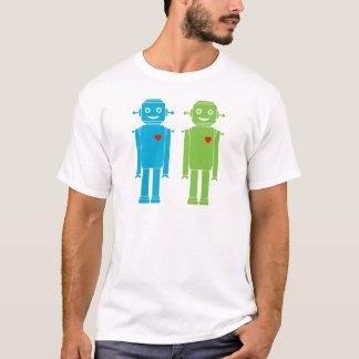 Robots gay camiseta