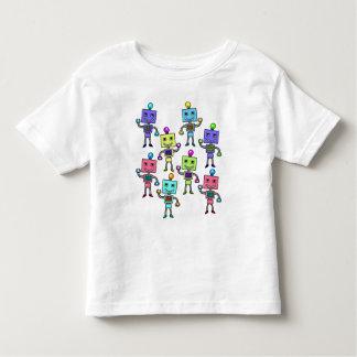 Robots retros viejos de Skool Camisas