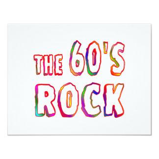 roca 60s invitación 10,8 x 13,9 cm