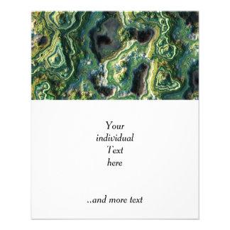 roca acodada, (i) verde folleto 11,4 x 14,2 cm