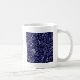 Roca azul del granito taza clásica