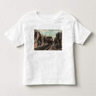 Roca cortada en Mt. Tom Camiseta