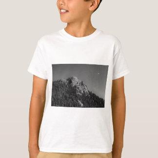 Roca creciente de la luna y del búfalo camiseta