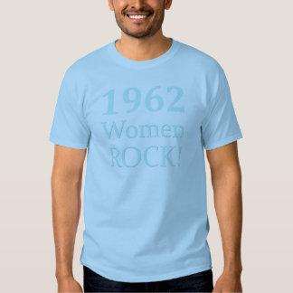Roca de 1962 mujeres, 50.o cumpleaños camiseta