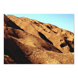 Roca de Ayers, parque nacional de Uluru, Australia Invitación 12,7 X 17,8 Cm