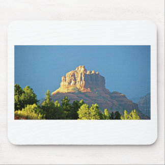 Roca de Bell de las montañas de Sedona Tapetes De Ratones