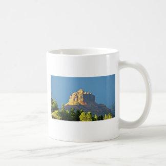 Roca de Bell de las montañas de Sedona Taza De Café