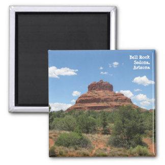 Roca de Bell, Sedona, Arizona Imán Cuadrado