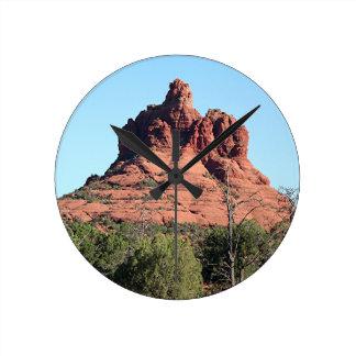 Roca de Bell, Sedona, Arizona, los E.E.U.U. Reloj Redondo Mediano