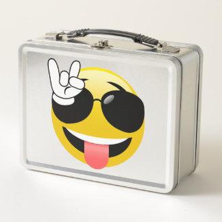 Roca de Emoji encendido