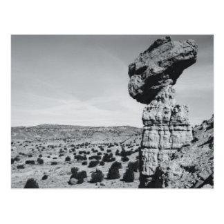 Roca de equilibrio New México 2 Tarjetas Postales