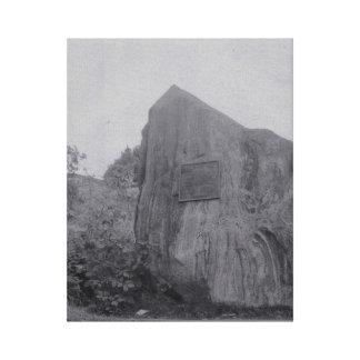 Roca de Graydon en lona Lienzo