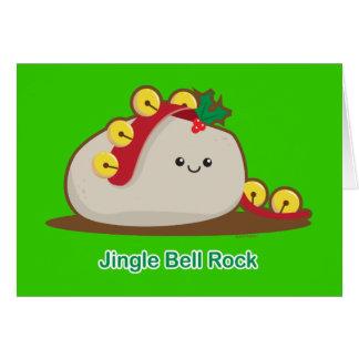 Roca de Jingle Bell Tarjeta De Felicitación