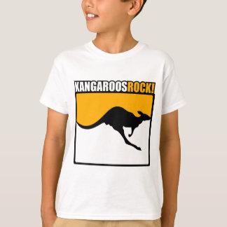 ¡Roca de KangaROOS! Camiseta