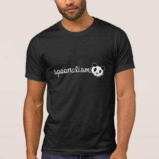 Roca de la panda de Spoonalism Camisetas