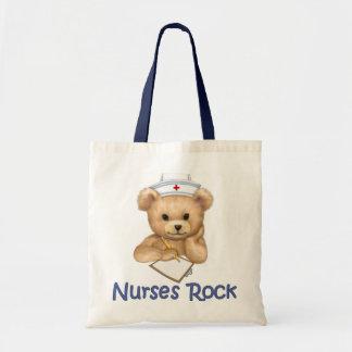 Roca de las enfermeras bolsa tela barata