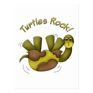 Roca de las tortugas postal