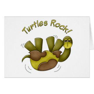 Roca de las tortugas tarjeton