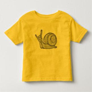 Roca de los caracoles camiseta de bebé