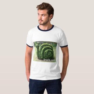 ¡Roca de los caracoles! Camiseta de la diversión