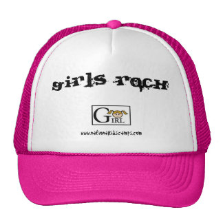 Roca de los chicas gorra