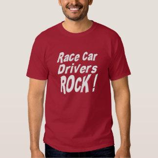 ¡Roca de los conductores de coche de carreras! Camiseta