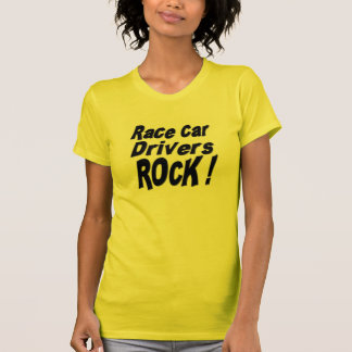 ¡Roca de los conductores de coche de carreras! Camisetas
