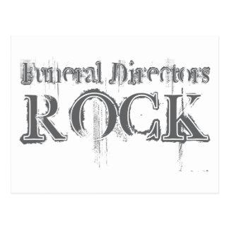Roca de los directores de funeraria postal