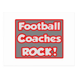 ¡Roca de los entrenadores de fútbol! Tarjeta Postal