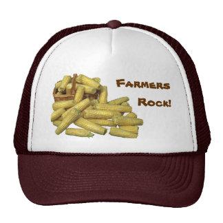 ¡Roca de los granjeros del maíz! Gorra