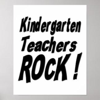 ¡Roca de los maestros de jardín de infancia! Impre Poster