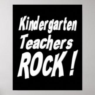 ¡Roca de los maestros de jardín de infancia! Póster