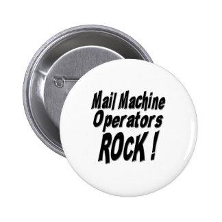 ¡Roca de los maquinistas del correo! Botón