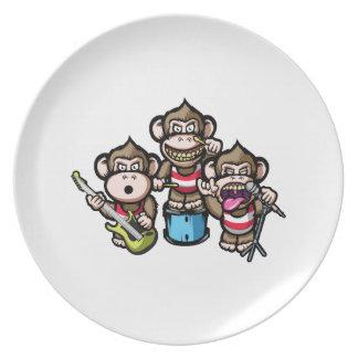Roca de los monos plato de cena