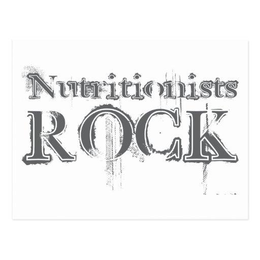 Roca de los nutricionistas postales