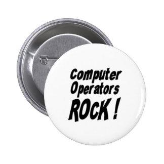 ¡Roca de los operadores! Botón Pins