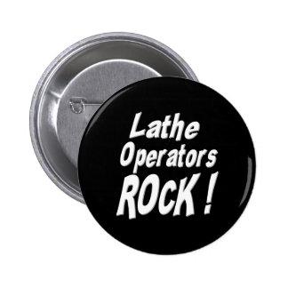 ¡Roca de los operadores del torno! Botón