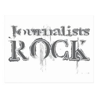 Roca de los periodistas postal