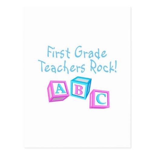 Roca de los profesores del primer grado postal
