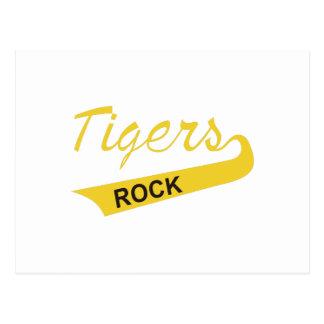 Roca de los tigres postal