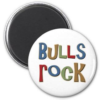 Roca de los toros imán redondo 5 cm