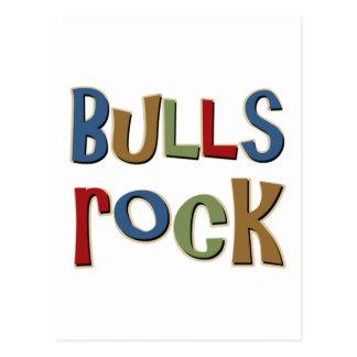 Roca de los toros postal