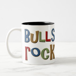 Roca de los toros taza de dos tonos