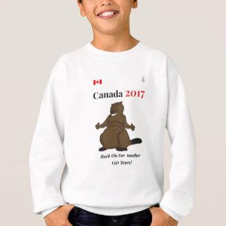 Roca del castor de Canadá 150 en 2017 encendido Sudadera