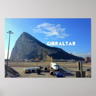 Roca del papel de poster del valor de Gibraltar